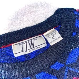 TJW by Mervyn's Sweaters - Vintage Men's Sweater TJW by Mervyn's Large